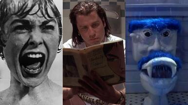 15 nejděsivějších filmových koupelen