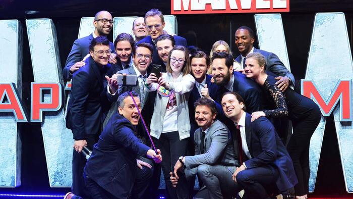 Kdo je nejpopulárnějším hercem od Marvelu?